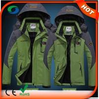 3 In 1 Multifunctional Waterproof Polar Fleece Heated Jackets