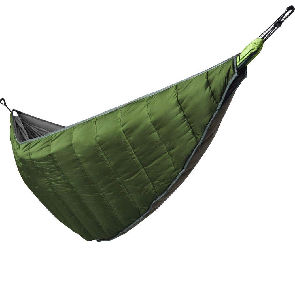 Camping & Hiking Portable Keep Warm Cold Winter Camping Hammock Underquilt Ultralight Full Length Under Blanket With Carrying Bag Fashionable Patterns Sports & Entertainment
