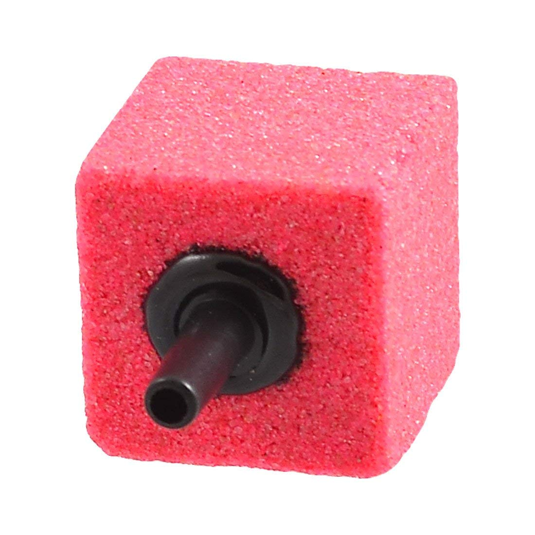 Uxcell Aquarium Airstone, 2.6 by 2.6 by 4cm, Hot Pink