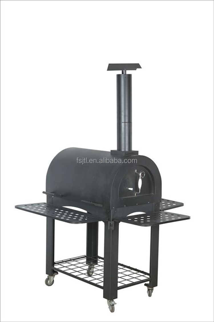 Shop Our Selection Of Outdoor Pizza Ovens Built In Grills In The Outdoors Department At The Home Depot Buy Black Smoker Grill For Garden Merry