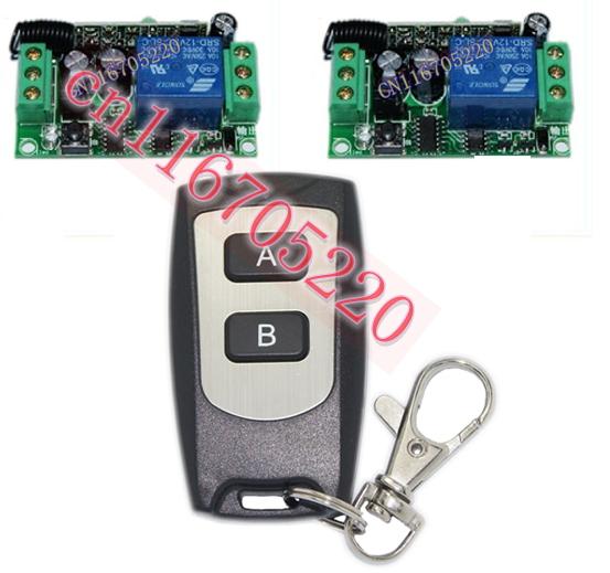 433mhz Dc12v 12 V 1 Ch Channel Wireless Rf Remote Light