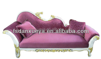 Awe Inspiring Danxueya Antique Purple Chaise Lounge Purple Sectional Ibusinesslaw Wood Chair Design Ideas Ibusinesslaworg