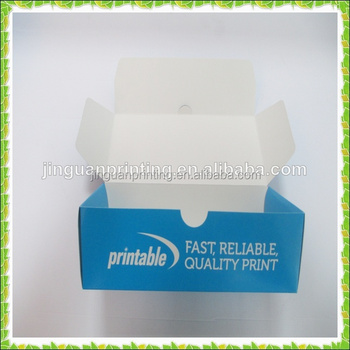 Custom Printed Business Card Box Paper Packaging