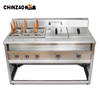 Large Size Electric Noodle Cooking Machine Standing Pasta Cooker Machinery