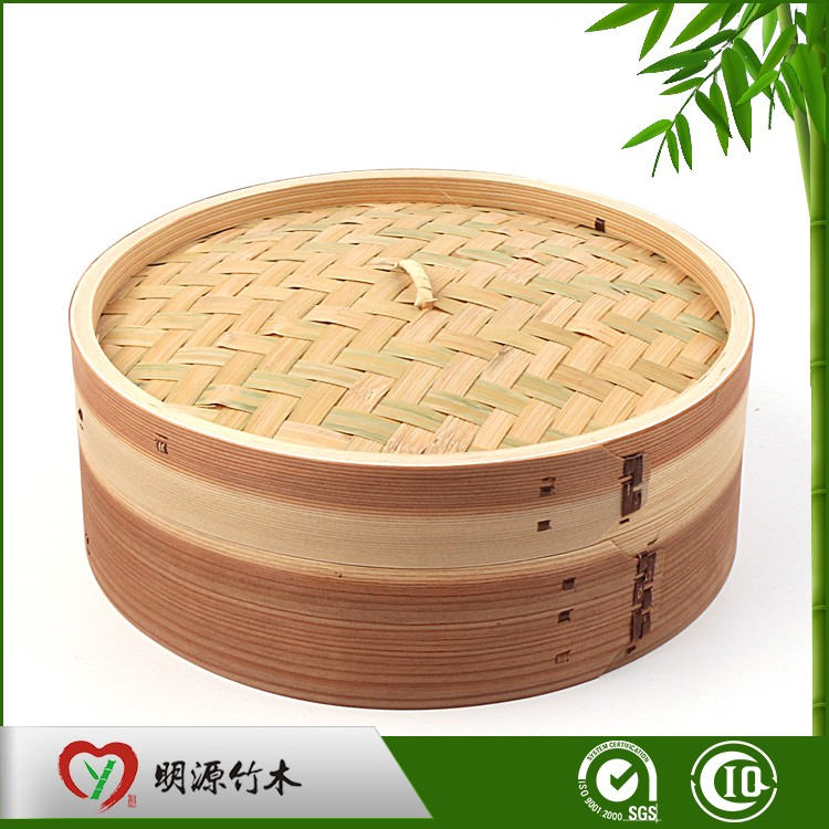 cook food bamboo steamer set