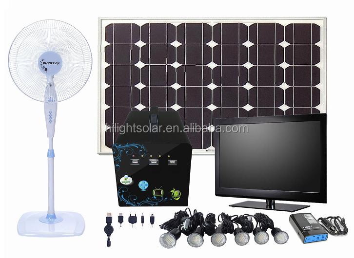 portable 100 w tout en un syst me d 39 nergie solaire pour. Black Bedroom Furniture Sets. Home Design Ideas