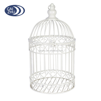 2016 New coming White Wire Decoration decorative bird cages for weddings