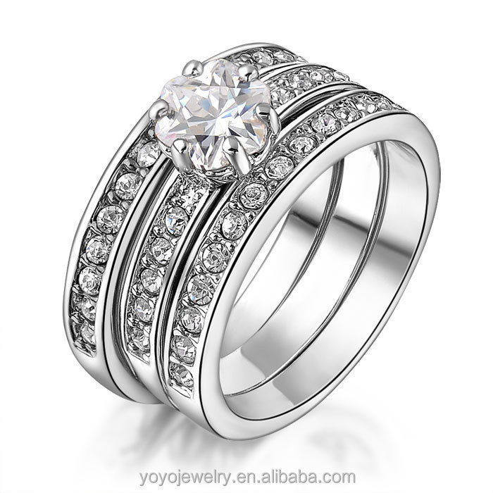 Special Sterling Silver Boy Fashion Sterns Wedding Rings