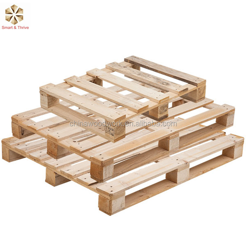 Factory Wholesale European Fumigation Press Wood Pallets Made in China