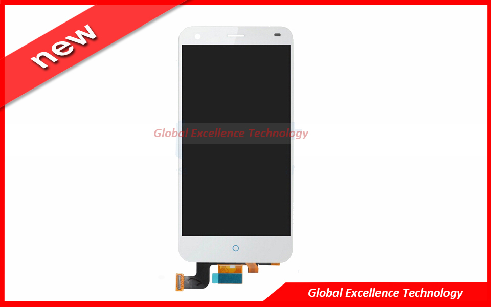 Original White LCD Display with Touch Screen Digit...