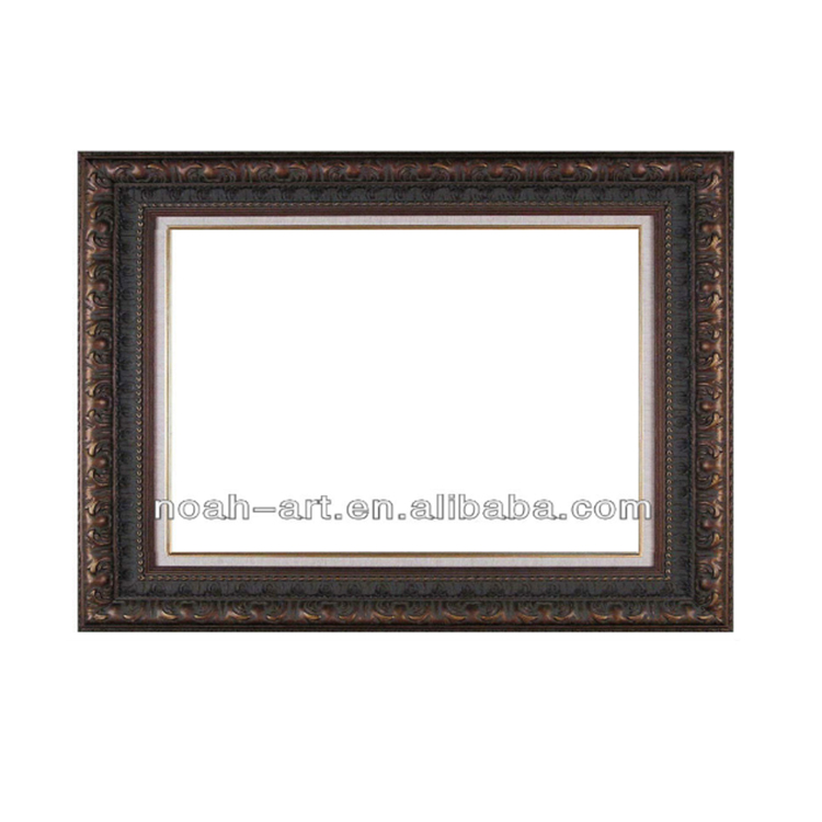 Wooden Material Antique Oil Painting Frame For Living Room Decor ...