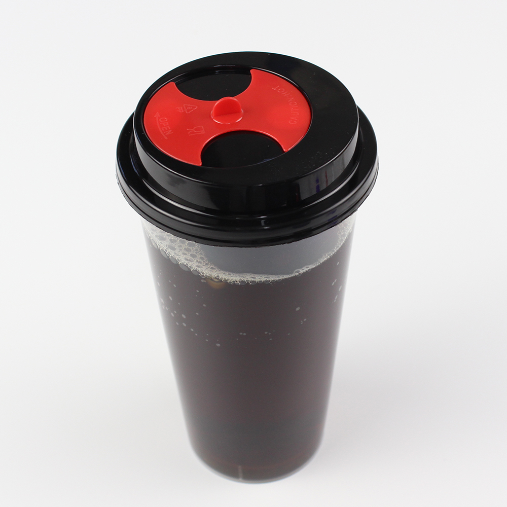 Factory price clear 700ml drinking coffee pp drink plastic <strong>cup</strong>