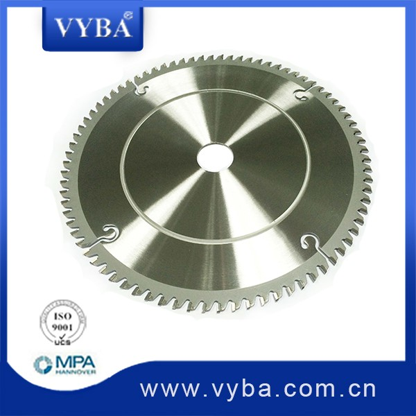 TCT circular saw blade for aluminum cutting