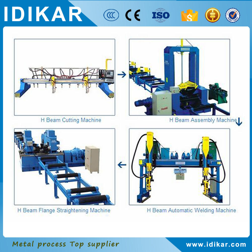 hot sale China supplier steel h beam production line