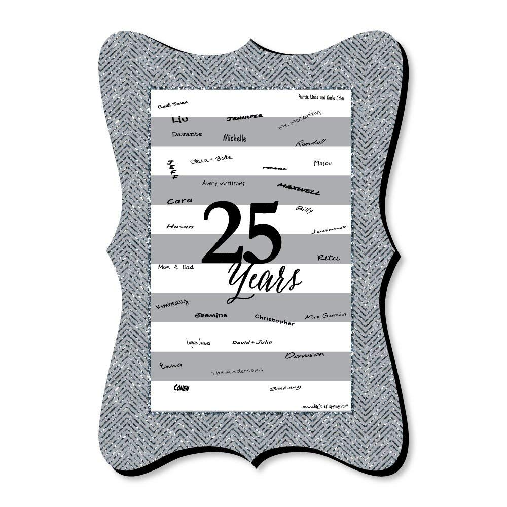 cheap 25th wedding anniversary card find 25th wedding anniversary