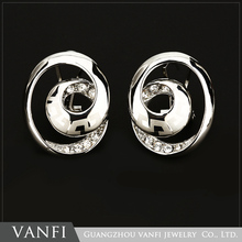 1hot selling happy back earrings jewlery set China wholesale factory price