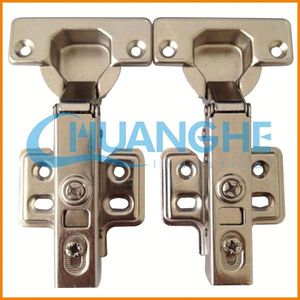 Hydraulic buffering hinge tent pole hinges