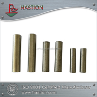 TiC steel-bonded pins for max extending wear life of High Mn Wear Resistant Casting