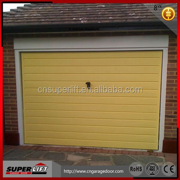 PU Sandwich Panel Garage Door Sales Lower Prices,single Panel Automatic  Garage Door