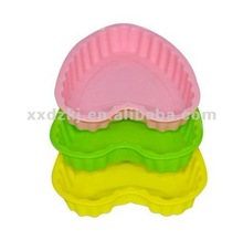 Microwave safe Romantic Heart Shape Silicone Cake Pan/Mould/Case