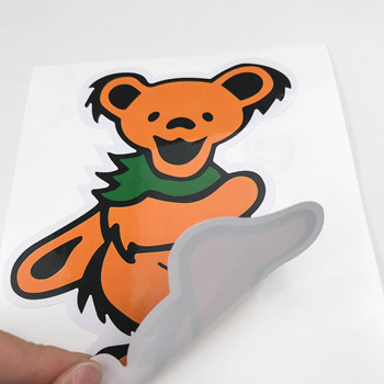 hot sale custom fashion  Waterproof PVC Vinyl Die Cut  Sticker