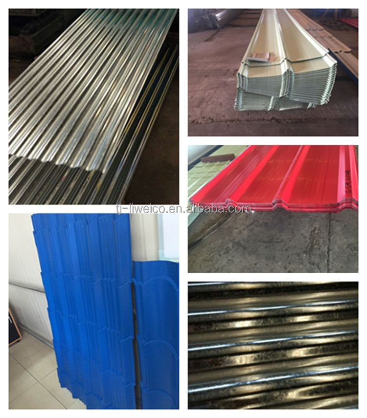 anti-figure print Customized corrugated galvanized steel plate