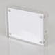 Custom Clear Acrylic Magnet Photo Frame Plexiglass Photo Holder 8x10 inch