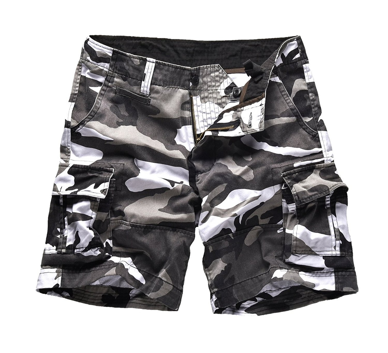 Get Quotations · Backbone Mens Army Tactical Military Cargo Shorts Work  Fishing Camping Camo Shorts e705568cdf5