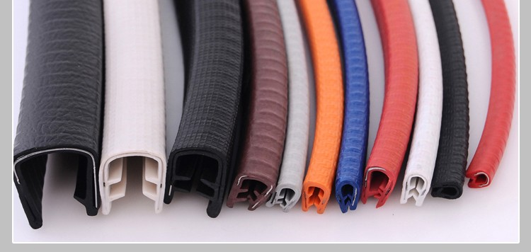 Car Door Rubber Edge Trim Seal Pvc Edge Protector For