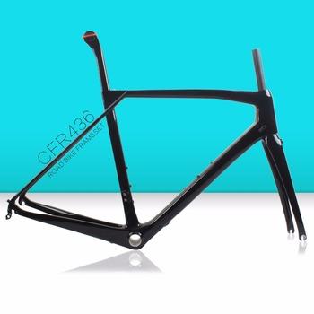 2018 Affordable Rim Brake 700c Road Bike Frame ,Carbon Road Bike Frame T700  CFR436