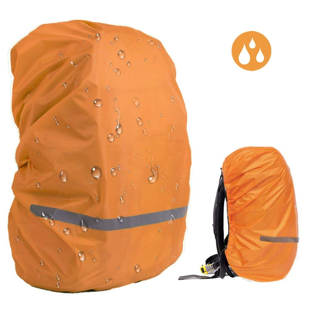EDOBIL Rainproof Cover Waterproof Backpack Rain Cover With Reflective Strip for Hiking Camping Traveling Outdoor Activities