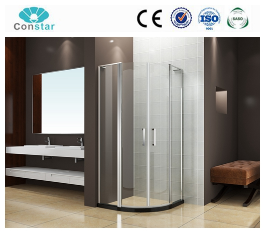 6mm thick glass luxury cheap price comfortable waterproof stainless steel zinc alloy shower enclosure