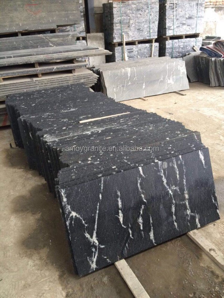 Jet Black Granite Quarry For Sale (Direct Factory + Good Price )
