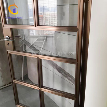Stainless steel screen door cheap metal door