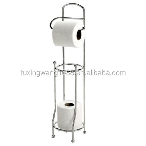 4 rollen chrom wc papierrollenhalter freistehende papierhalter produkt id 60208329612 german. Black Bedroom Furniture Sets. Home Design Ideas