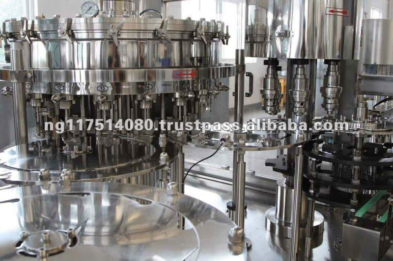Automatic Filling / Bottling Machines for Carbonated Drinks