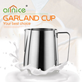 High Quality Coffee Tools Stainless Steel Coffee Garland Milk Cup/Milk jug garland cup