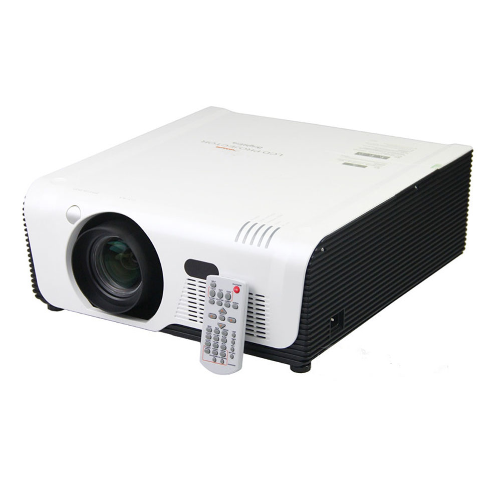Multimedia Video Beamer with HDMI Wifi RJ45/RS232 Full HD Edge blending 7000 ansi lumens Hologram Projector