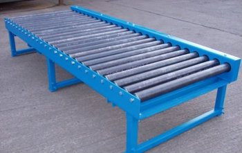Stainless Steel Industrial Roller Table Conveyor