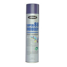 SUPER 88 temporal bordado <span class=keywords><strong>adhesivo</strong></span> en <span class=keywords><strong>spray</strong></span>