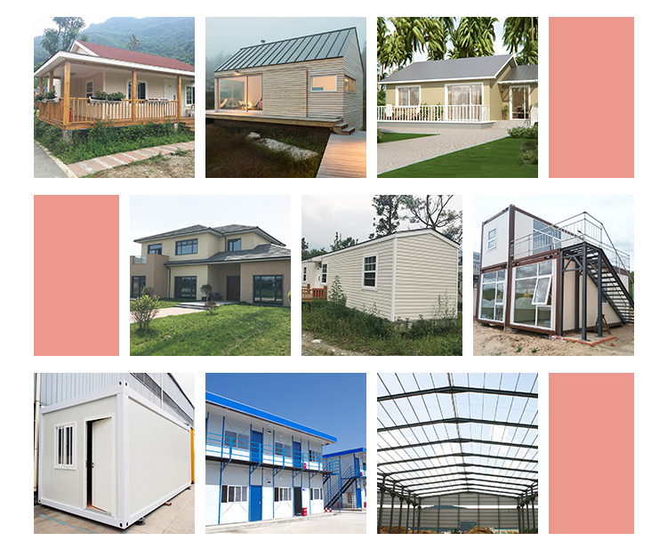 InfiCreation modern prefabricated steel warehouse customized for factory