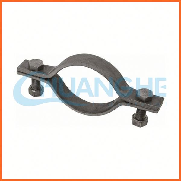 China Manufacturer 1inch -3inch welded cross type and k type wall pipe clamp