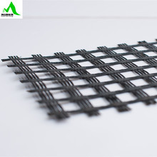 Bitumen Coated Biaxial Fiberglass Geogrid Prices 25KN*25KN~100KN*100KN with CE Certification