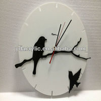 Modern Design Decorative Acrylic Wall Clocks for Bedroom