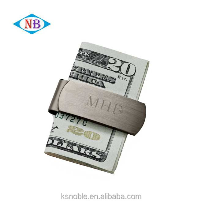 China cheap Wholesale custom money clip