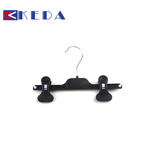 Small thin bottom clips hanger metal hook for kid's