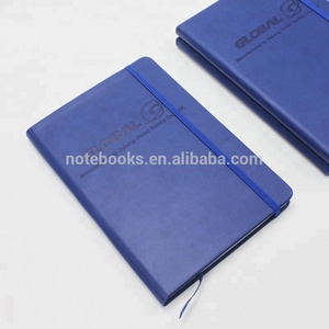 2018 trending products promotional items Premium Quality free design custom printed A5 hardcover pu leather notebook