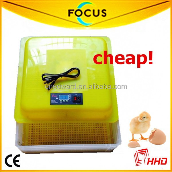 Newest design Cheap refrigerated incubator In Stock With 99% hatching Rate with 88 eggs