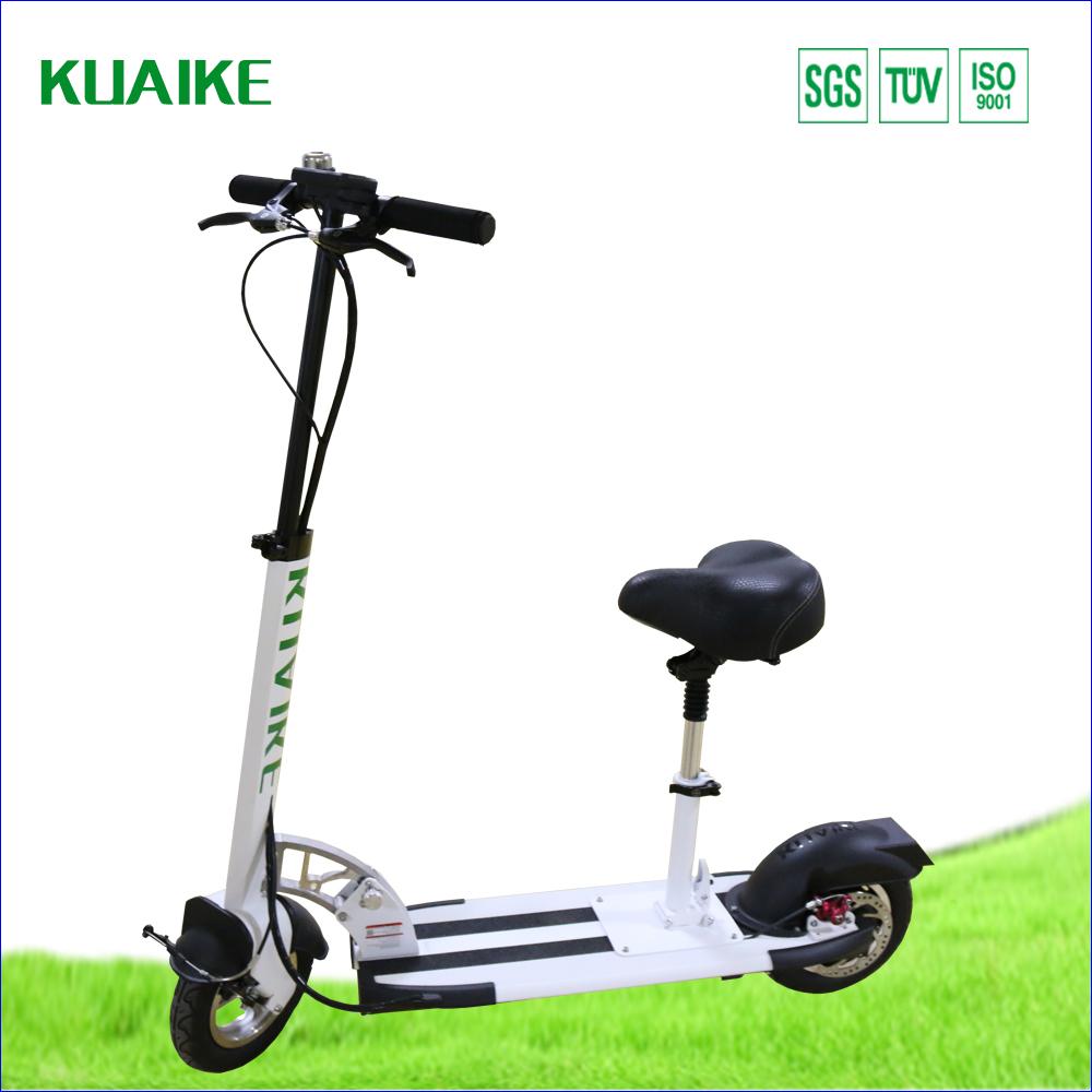 pas cher transporteur personnel adulte pliant lectrique scooters avec si ge deux roues scooters. Black Bedroom Furniture Sets. Home Design Ideas