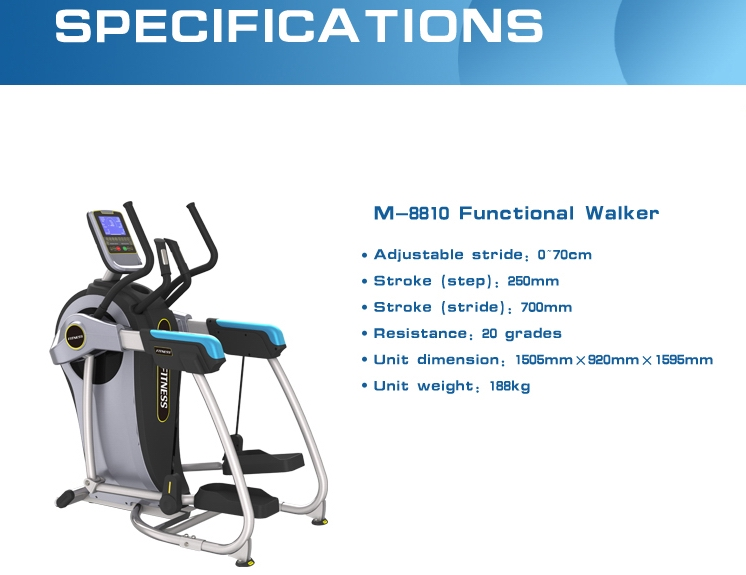 CE approved Cross Trainer